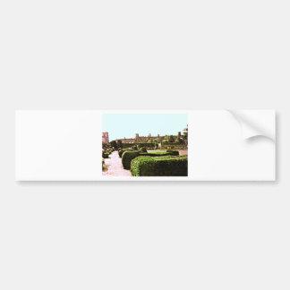 Stratford-upon-Avon Garden snap-28575 jGibney Bumper Sticker