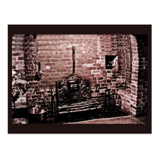 Stratford-upon-Avon Shakespeare's Fireplace jGibne Postcard