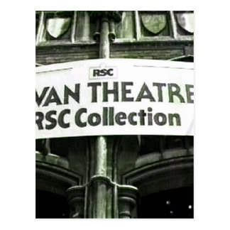 Stratford-upon-Avon Swan Theatre snap-27813 jGibne Postcard
