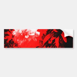 Stratford-upon-Avon White Flowers In The Red jGibn Car Bumper Sticker