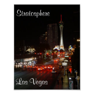 Stratosphere Tower Las Vegas Poster