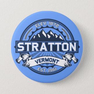 Stratton Blue 3 Inch Round Button