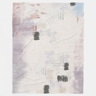 Stratum Abstract Fleece Throw