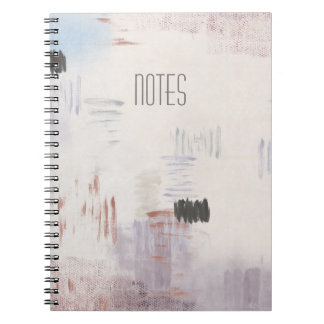 Stratum Abstract Spiral Notebook