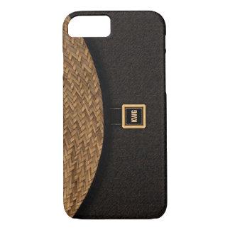 Straw Clutch Bag iPhone 8/7 Case