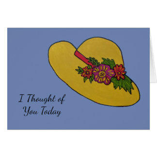 Straw Hat Card