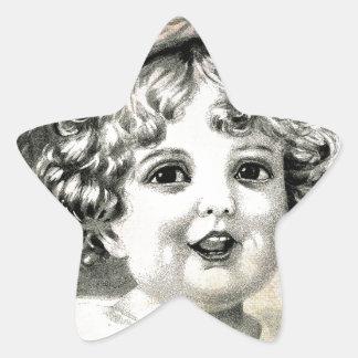 STRAW HAT STAR STICKER