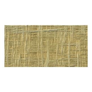 straw pattern picture card