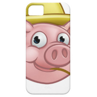 Straw Pig Cartoon Character Case For The iPhone 5