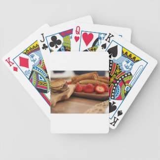 strawberries-3955 bicycle playing cards