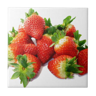 Strawberries 3 tile
