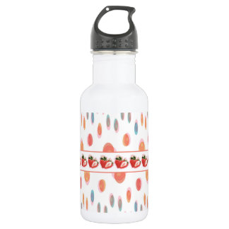 Strawberries 532 Ml Water Bottle