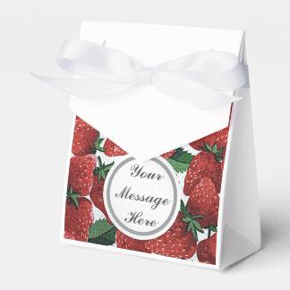Strawberries and Cream Favor Box