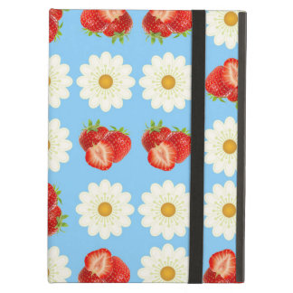 Strawberries and daisies case for iPad air