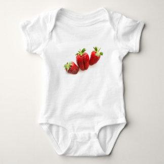Strawberries Baby Bodysuit