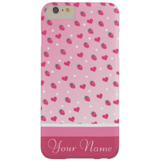 strawberries barely there iPhone 6 plus case