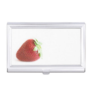 Strawberries Business Card Holders