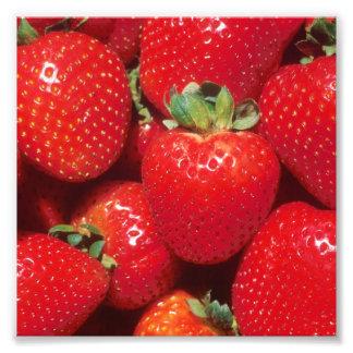 Strawberries Close-Up Art Photo