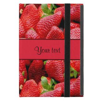 Strawberries Covers For iPad Mini