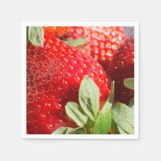 Strawberries Disposable Napkin