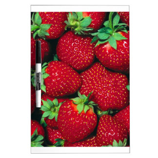 Strawberries Dry-Erase Boards