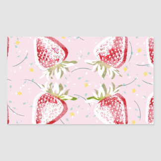 Strawberries Fiesta Pattern