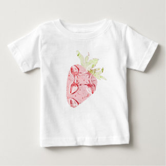 Strawberries Fiesta Pattern Baby T-Shirt
