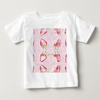 Strawberries Fiesta Pattern Baby T-Shirt