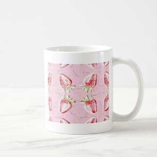 Strawberries Fiesta Pattern Coffee Mug