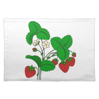 Strawberries for Breakfast Placemat