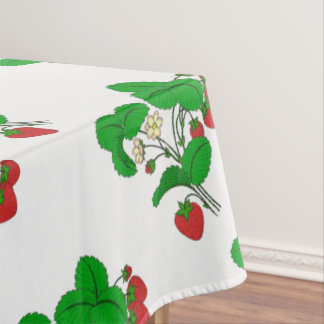 Strawberries for Breakfast Tablecloth