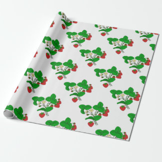 Strawberries for Breakfast Wrapping Paper