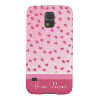 Strawberries Galaxy S5 Covers
