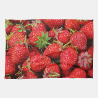 Strawberries Hand Towels