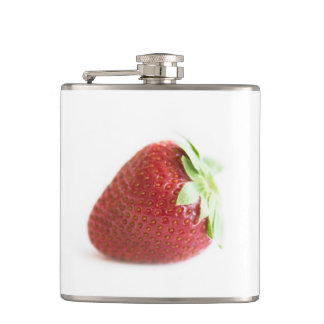 Strawberries Hip Flask