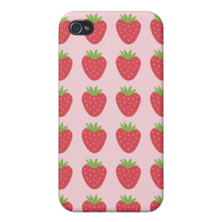 Strawberries iPhone4 Case iPhone 4 Cases