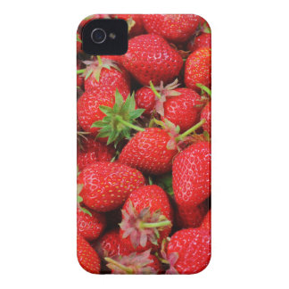 Strawberries iPhone 4 Covers