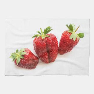 Strawberries Kitchen Towel