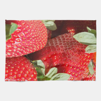 Strawberries Kitchen Towels