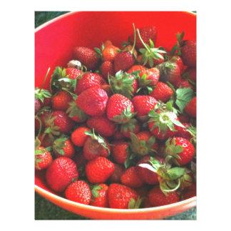 Strawberries Letterhead