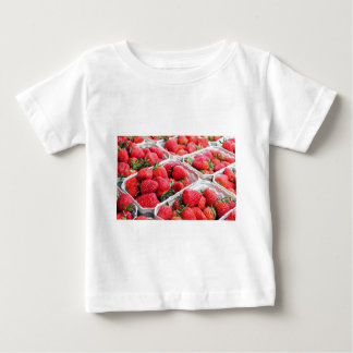 Strawberries market baby T-Shirt