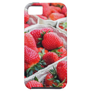 Strawberries market case for the iPhone 5