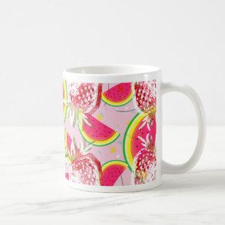 Strawberries Melon Fiesta Pattern Coffee Mug
