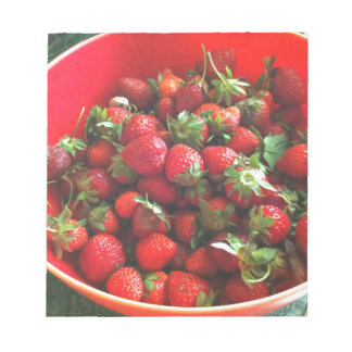 Strawberries Notepad