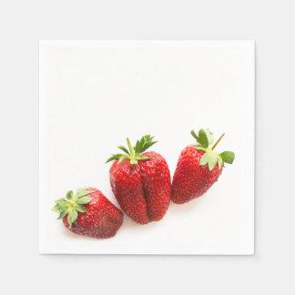 Strawberries Paper Napkin