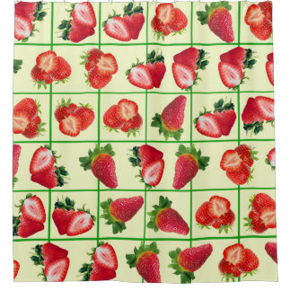 Strawberries pattern