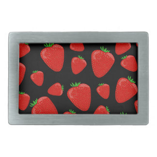 Strawberries pattern belt buckles