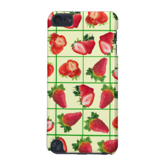 Strawberries pattern iPod touch 5G cover