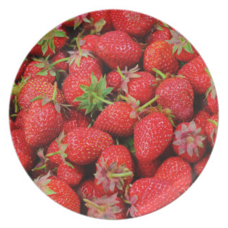 Strawberries Plate