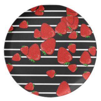 Strawberries Plates